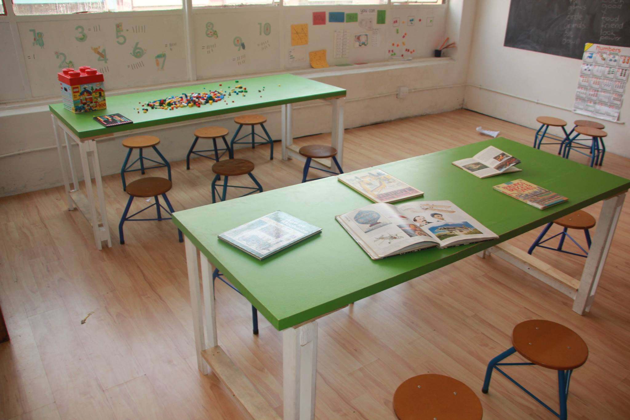 Streetlight schools classroom