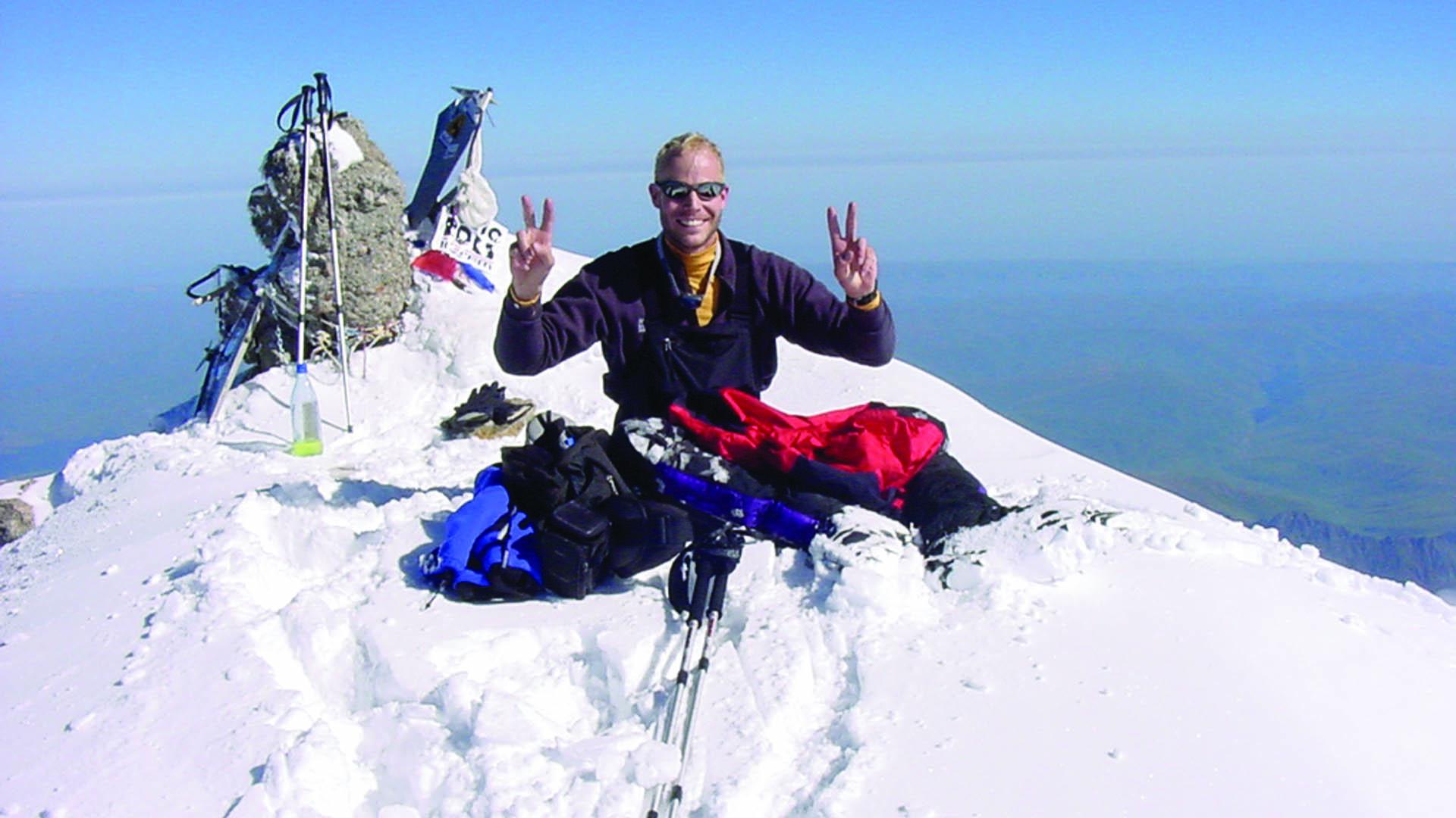 Elbrus summit silly