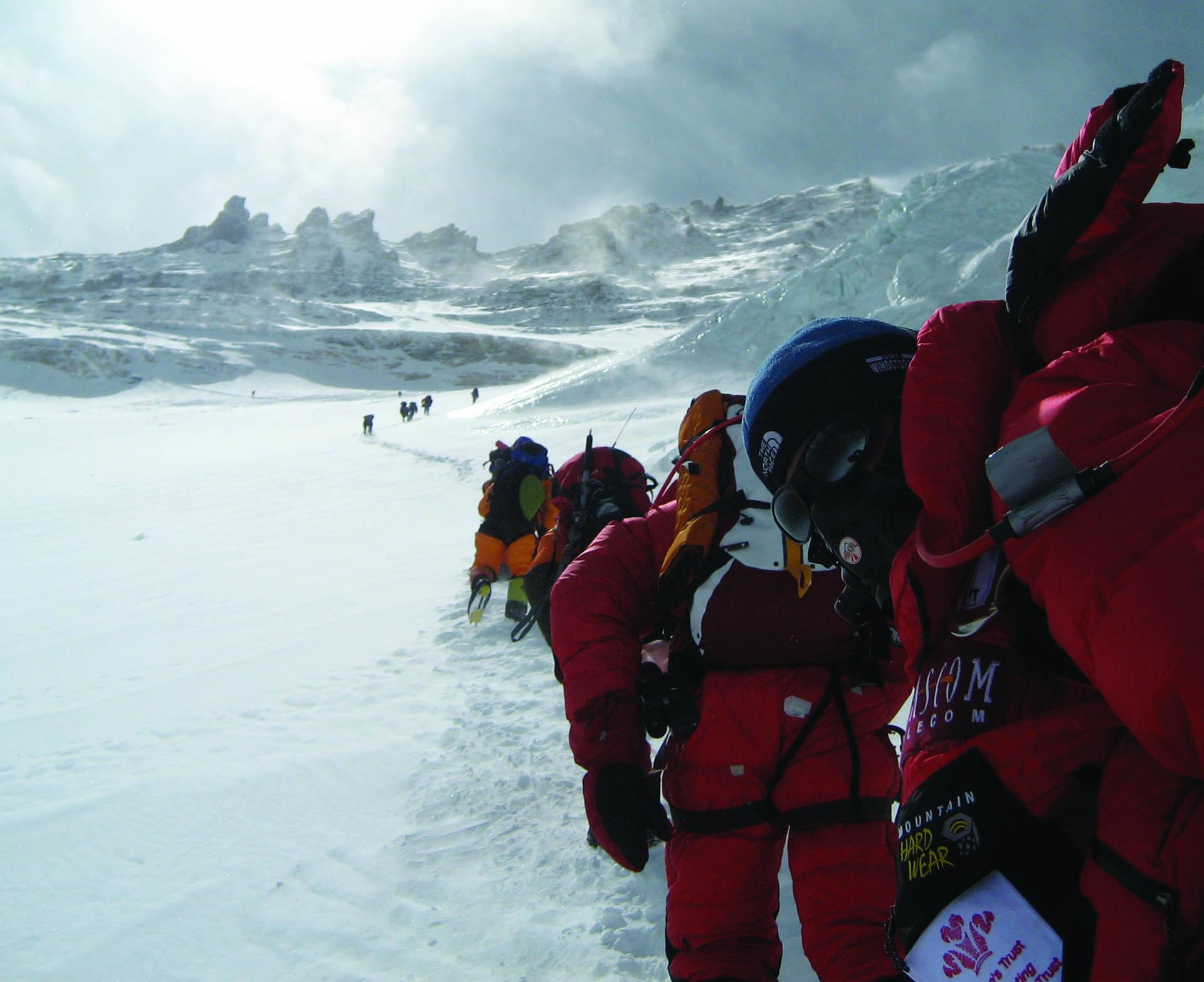Everest ascend