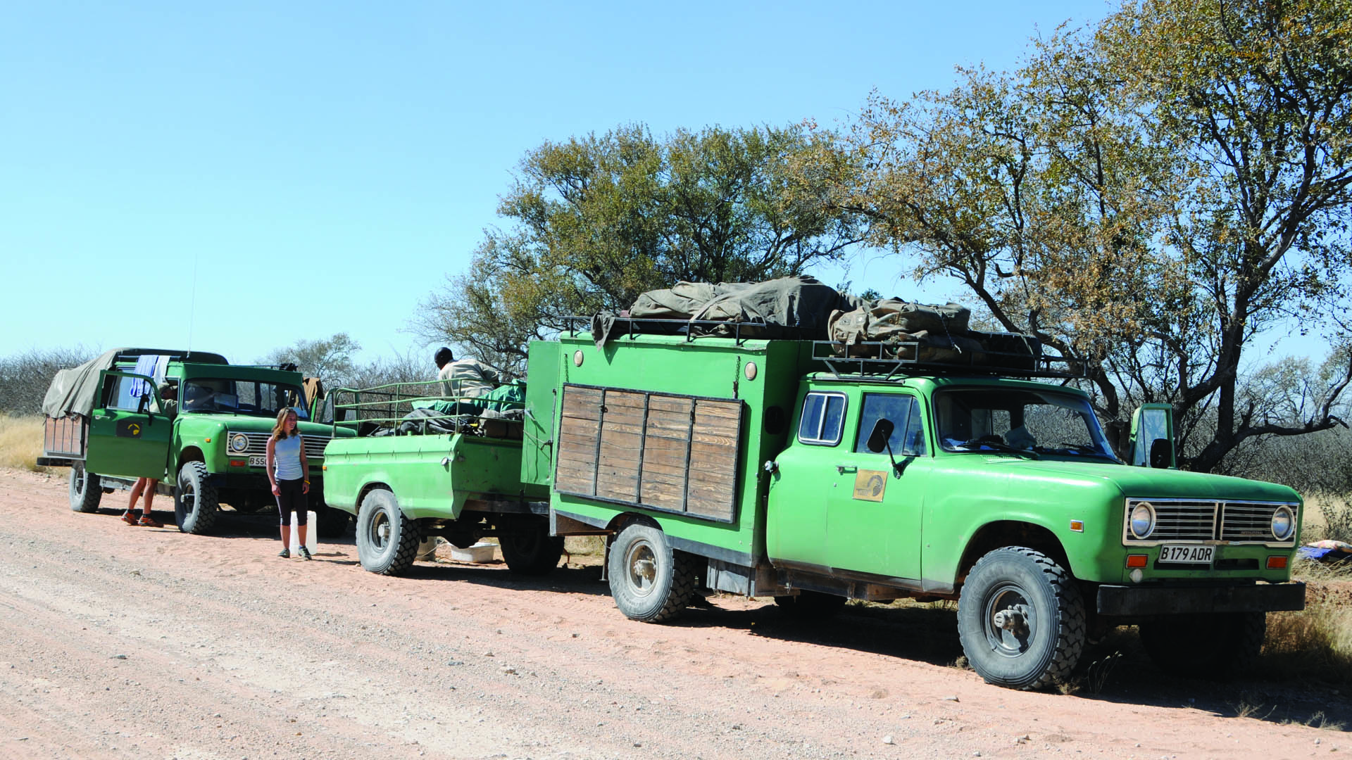 Kalahari Support Vehicles